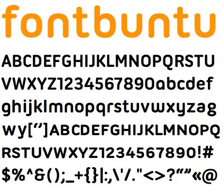 Ubuntu: Miglioriamo l'aspetto dei fonts - ChimeraRevo Ubuntu Font